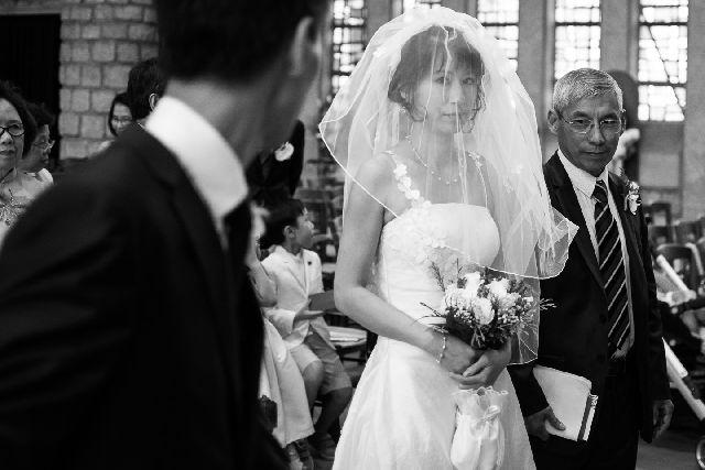 mariage-eglise-athis-mons-noir-et-blanc