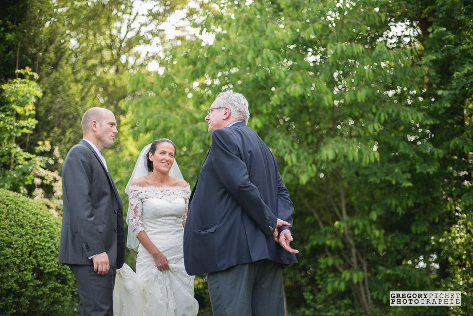 Mariage au Manoir des Cygnes au Coudray-Montceaux