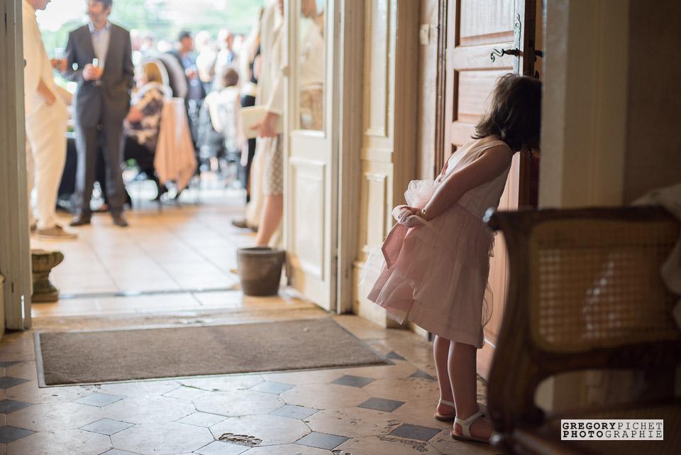Mariage au Manoir des Cygnes : jeux d'enfants