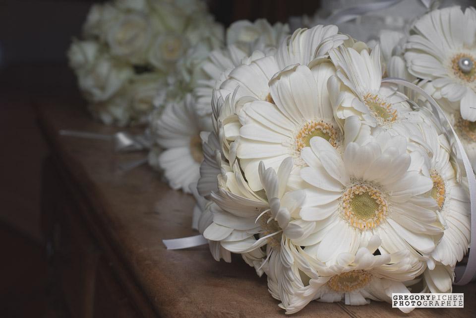 Déco fleurs d'un mariage