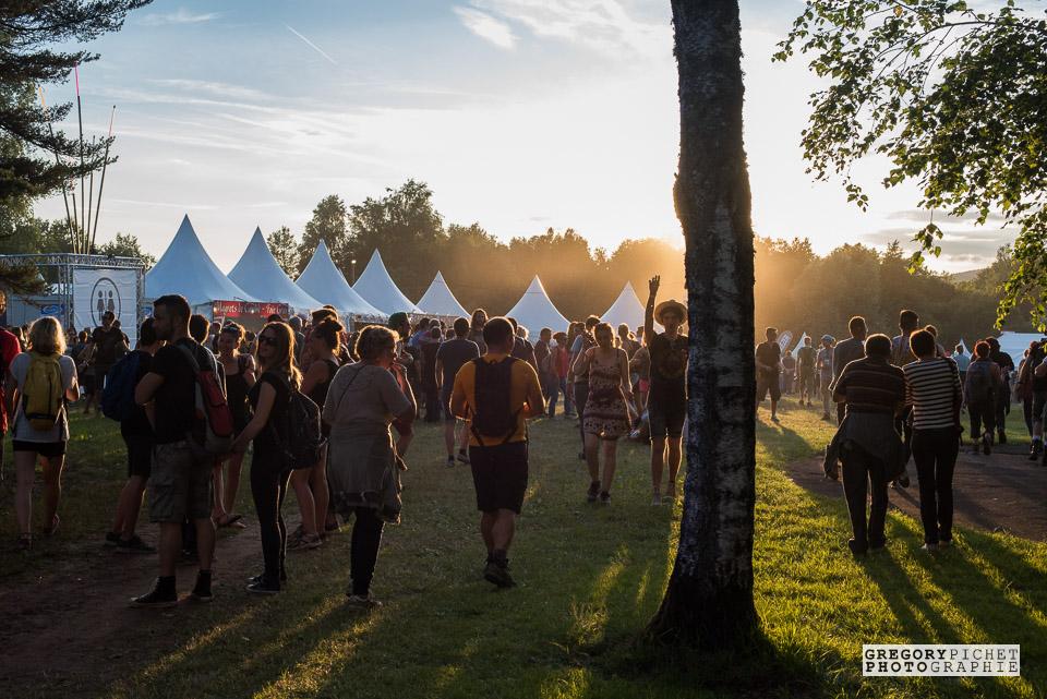 Coucher de soleil - Eurockéennes de Belfort 2016