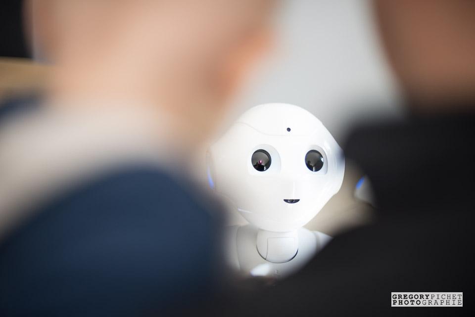 Bébé et robot