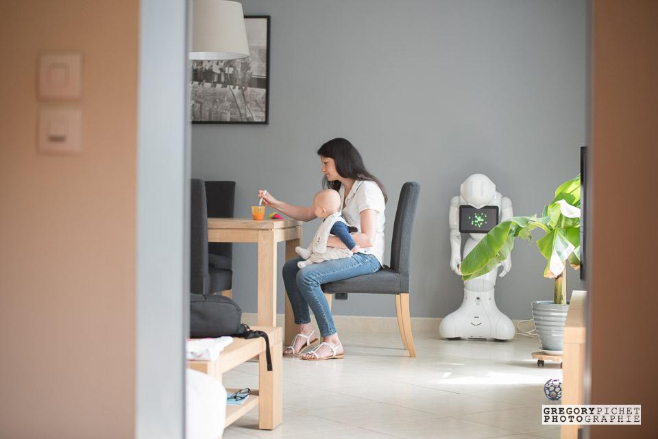 Famille et bébé lifestyle en Essonne
