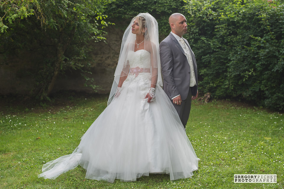 Portrait de mariés - Mariage à Itteville, Essonne