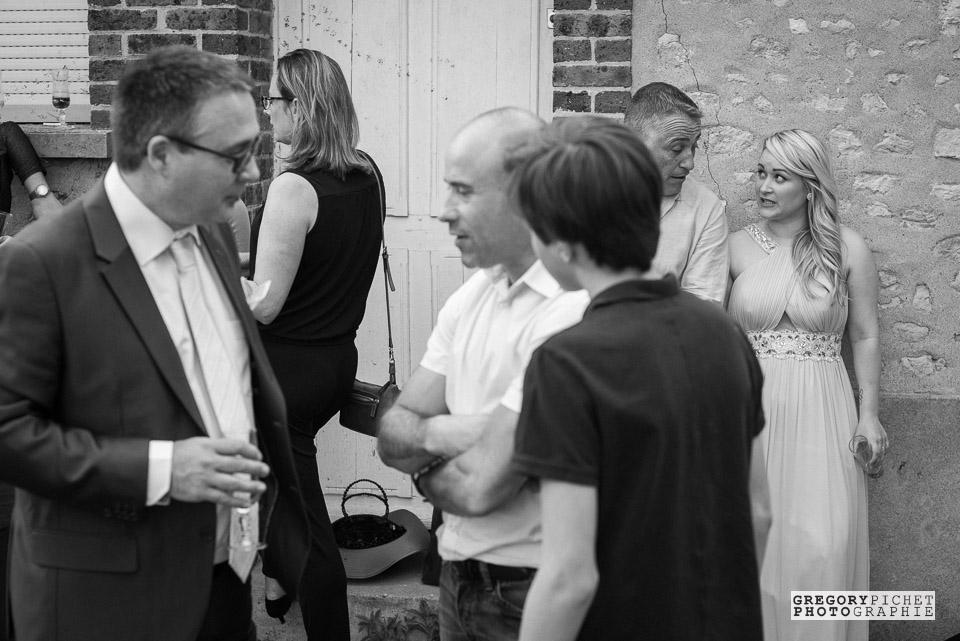 Mariage : vin d'honneur à la Ferme du Parc de Guillerval en Essonne