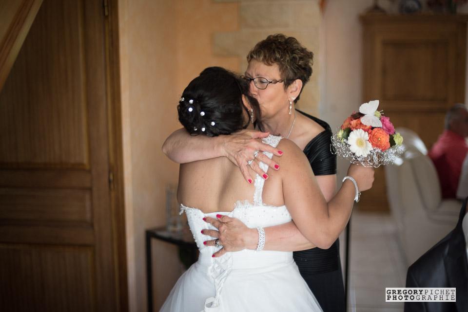 Embrassades au mariage