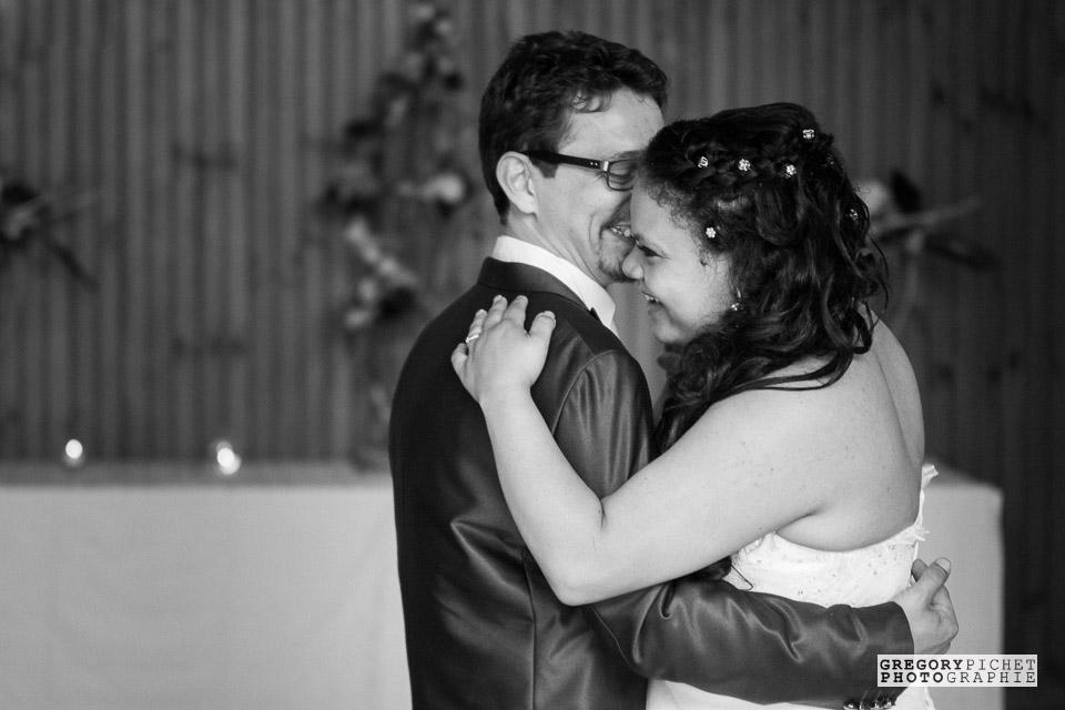 Danse intime des mariés