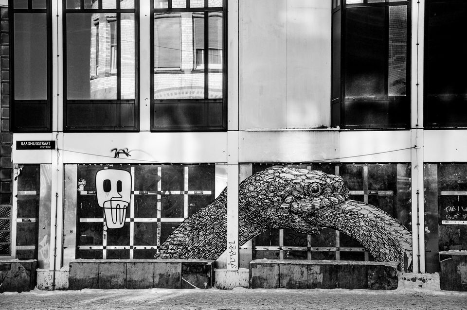 Street photo Amsterdam Raadhuisstraat