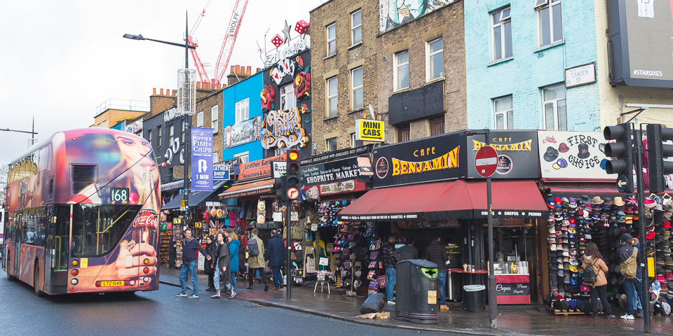 Colors of Camden Town