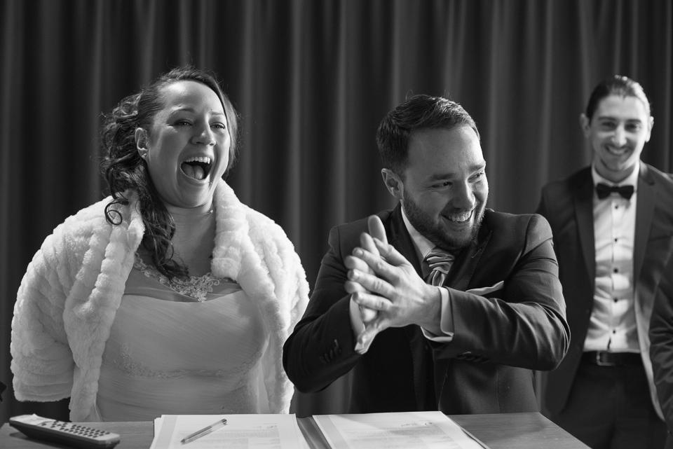 Cérémonie civile de mariage