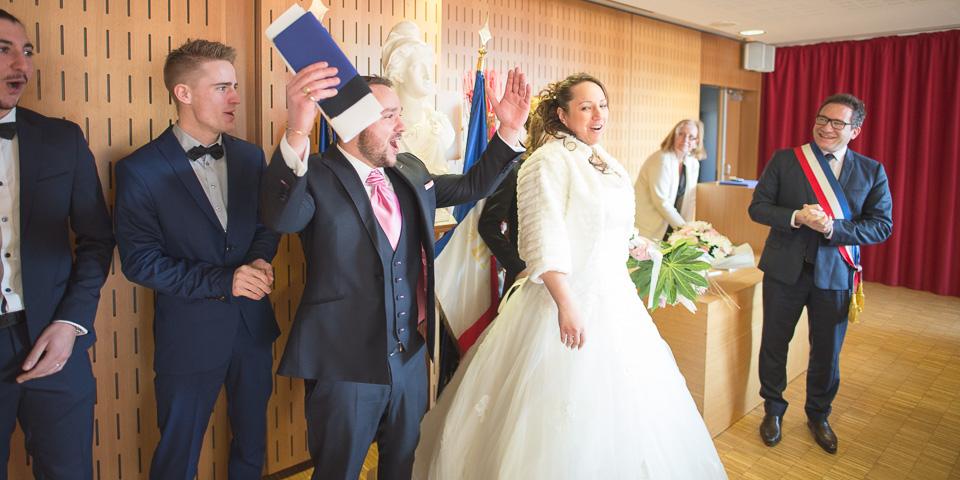 Mariage à la mairie de Magny les Hameaux