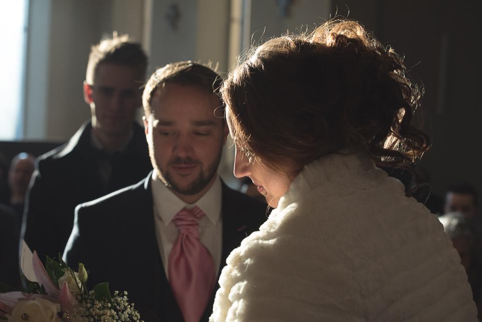 Mariage dans l'église de Magny les Hameaux