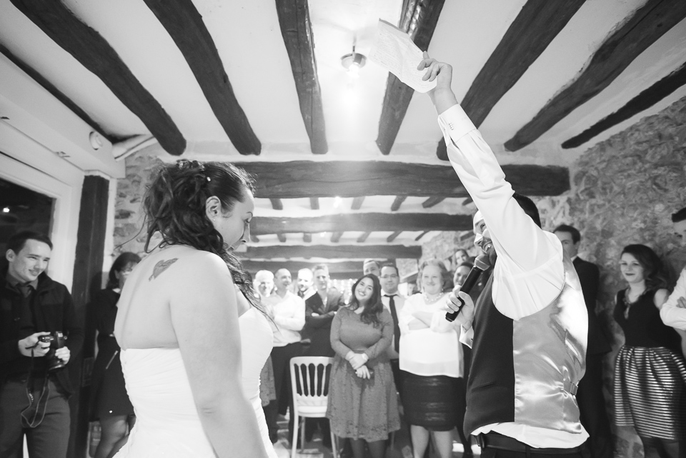 Echange de voeux des mariés
