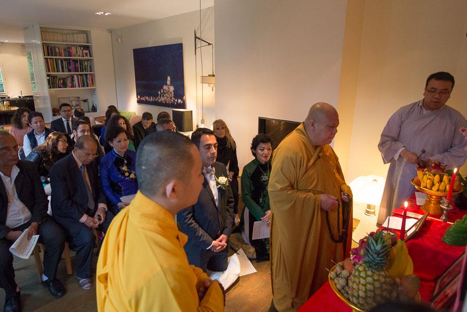 Mariage et cérémonie bouddhiste