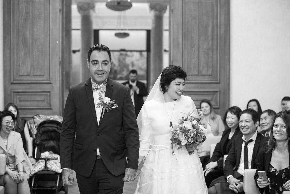 Mariage dans la mairie de Paris 12