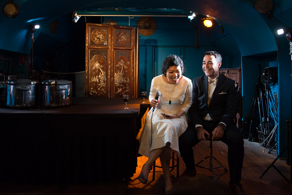 Discours des mariés sur le bateau Al Alamein à Paris
