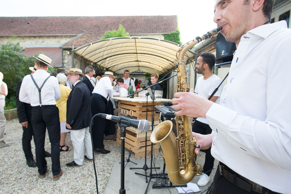 Mariage et orchestre aux Granges du Chesnay