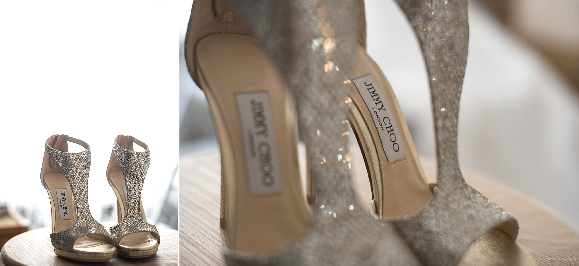 Chaussures Jimmy Choo pour une mariée