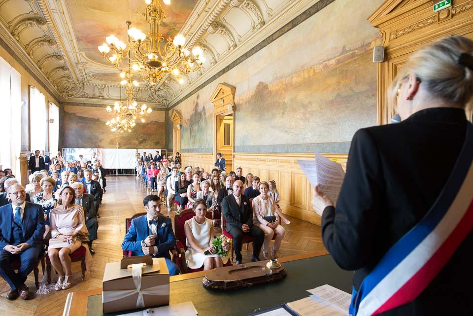 Mariage à la mairie de Vanves