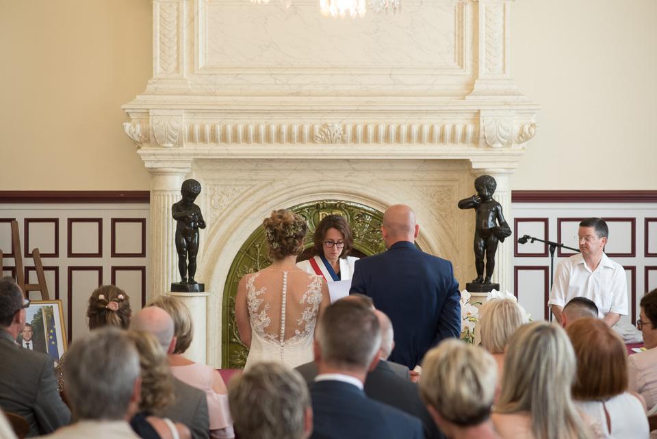 Mariage à la mairie de Boussy Saint Antoine
