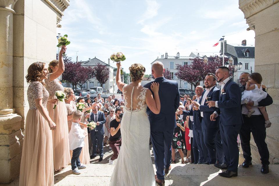 Cérémonie religieuse de mariage à Rambouillet