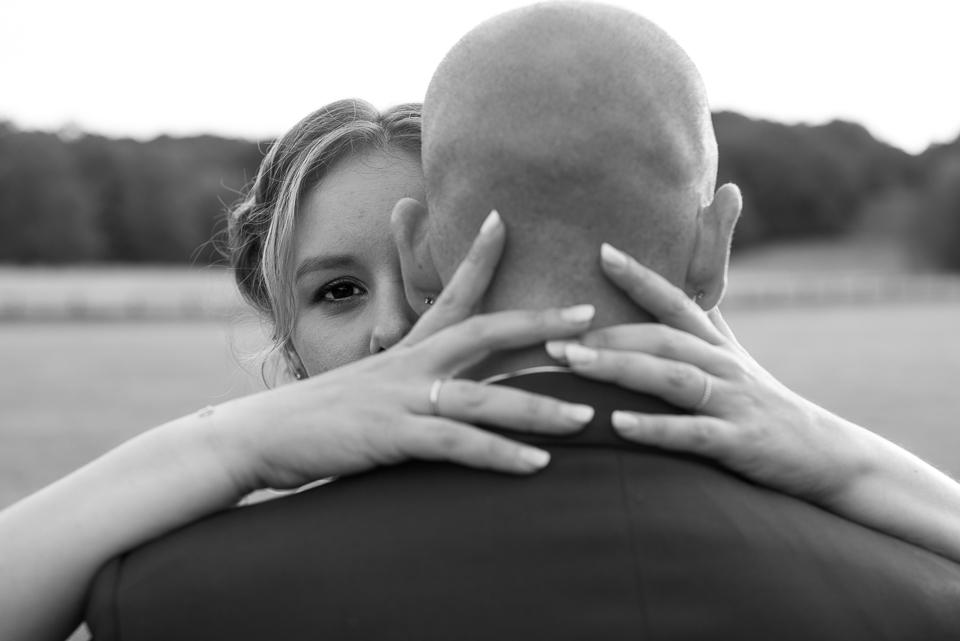 Couple de mariage au Domaine de la Butte Ronde