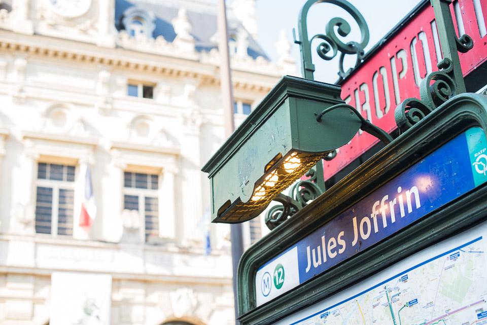 Station de métro Jules Joffrin
