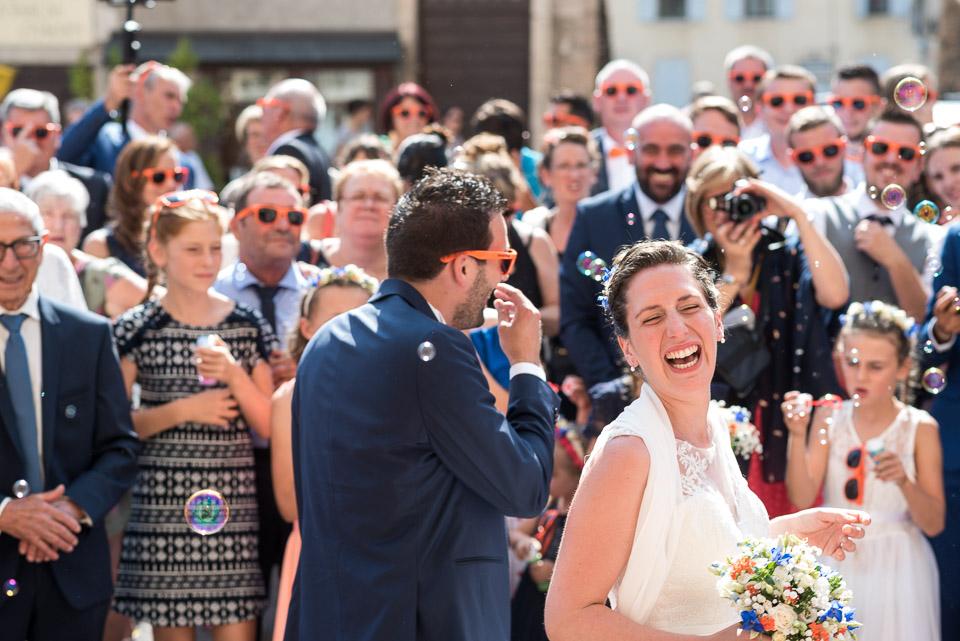 Mariage dans l'abbaye de Tournus en Bourgogne